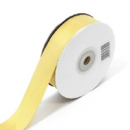 Old Gold Grosgrain Ribbon 10mm X 25 Meters With Free Pack Of 12 White Tags